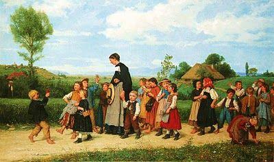 Field Trip... Swiss Genre Painter Albert Anker (1831-1910)