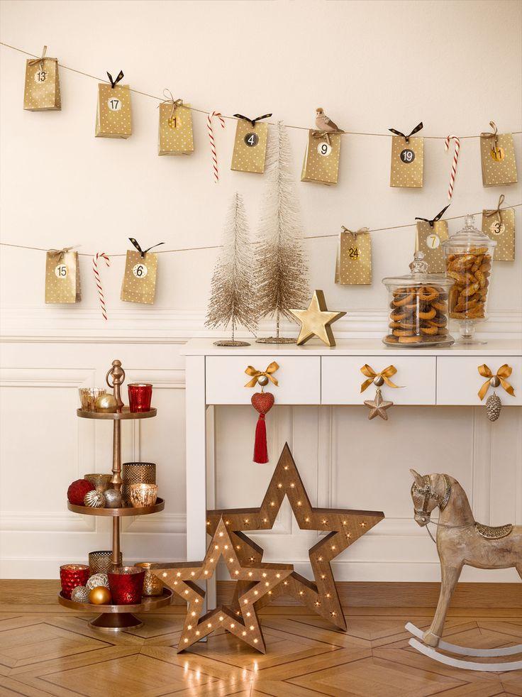 Himmlische Deko: Dezember-Glitzer-Dekoration sorgt bei der ganzen Familie für Vorfreude.