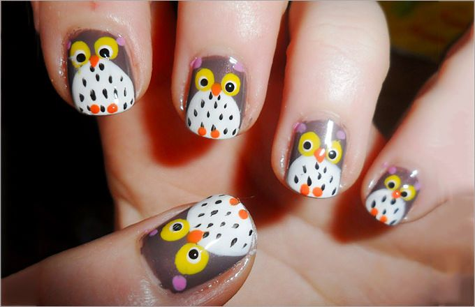 56 best Fall Nail Colors & Designs images on Pinterest ...
