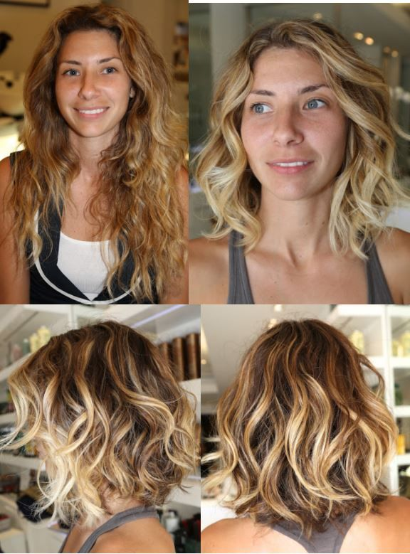 Tremendous 1000 Images About The Best Hair Transformations On Pinterest Short Hairstyles Gunalazisus