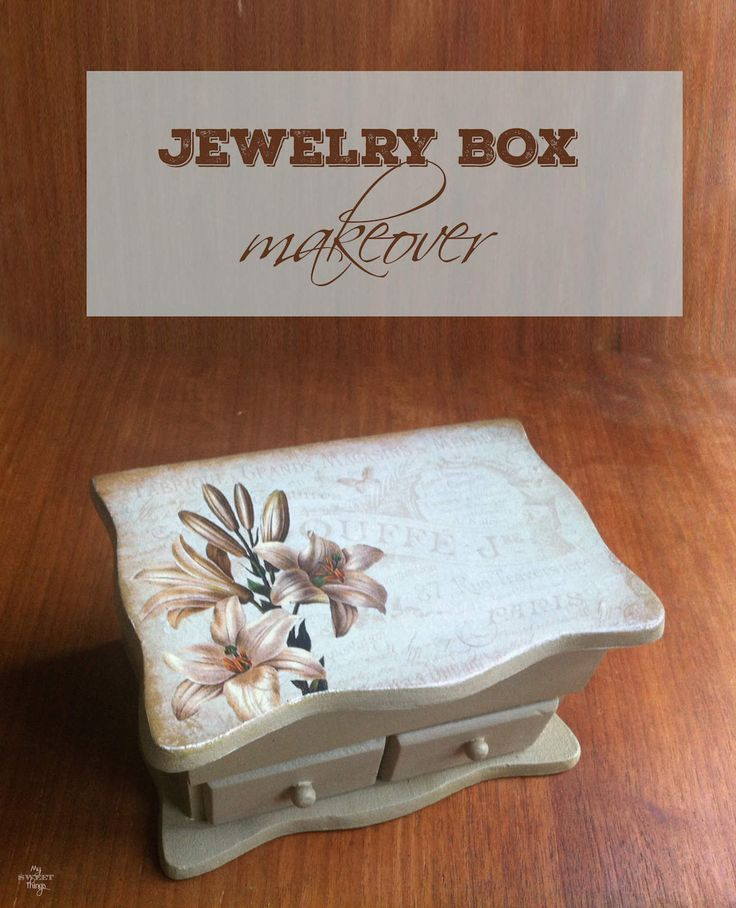 1000 ideas about jewelry box makeover on pinterest box for Old jewelry box makeover
