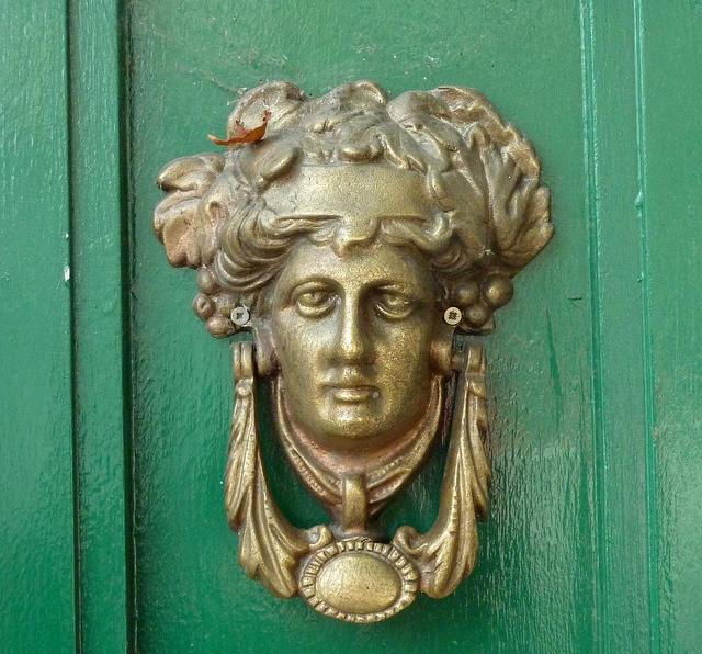 Door Knocker: Dublin, Ireland.