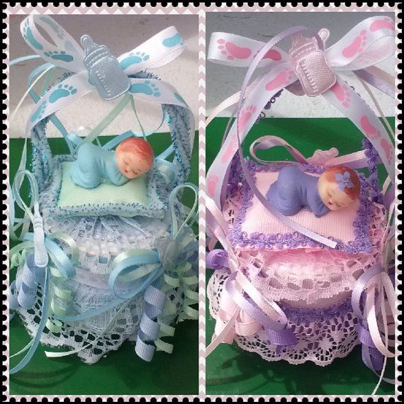 Baby Shower Cake Topper or Table Decoration for Boy or Girl on Etsy, $8.00