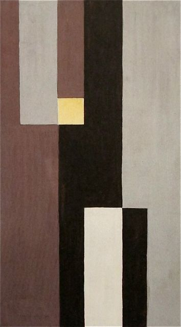 Sophie Taeuber-Arp  | Vertical-Horizontal Composition | 1928. Sophie Taeuber-Arp was a Swiss artist, painter, sculptor, and dancer. She is considered one of the most important artists of geometric abstraction of the 20th century