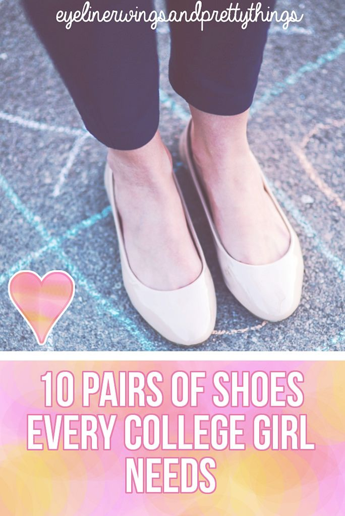 10 Pairs of Shoes Every College Girl NEEDS // College Wardrobe Essentials // eyelinerwingsandprettythings
