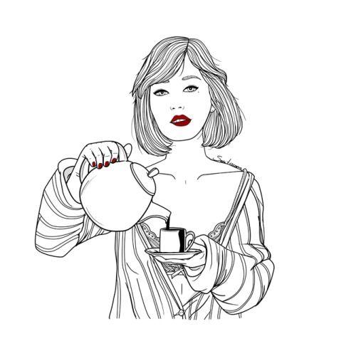 el café nos mantiene cuerdos. hasta que llegue la hora socialmente aceptada para empezar a beber ginebra.