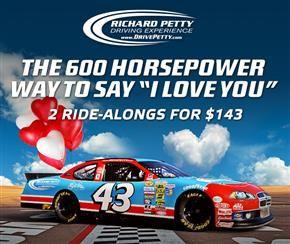 Ride/Drive a NASCAR Race Car - Richard Petty Driving Experience