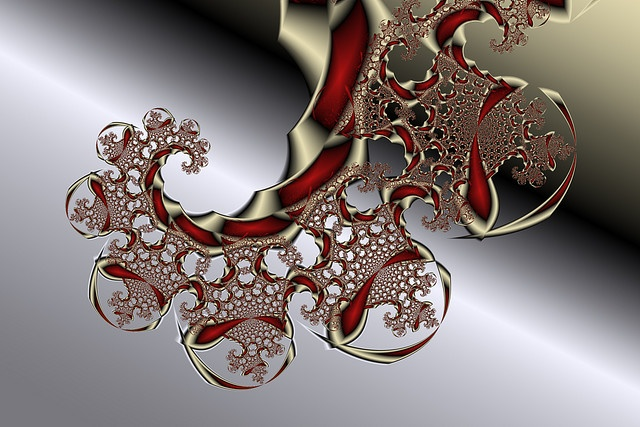 Golden Spiral created using the Fractal Science Kit fractal generator