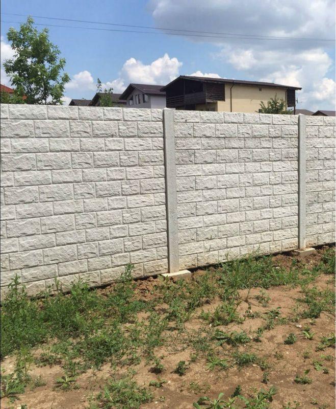 Factory New Design artificial stone polyurethane molding fiberglass concrete molds, moldes para cercas de concreto
