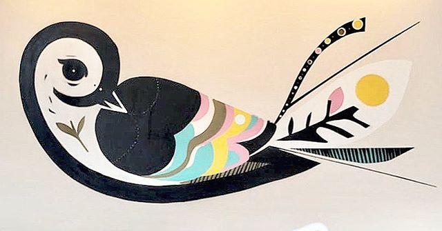 Pássaro Girassol . 3,5m x 2m . Spray sobre tela. 2016 . Live painting Arte Core . Avaiable. Reservas: hey@speto.com.br
