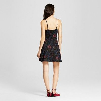 Women's Skater Dress - Mossimo Supply Co. Floral Print Xxl