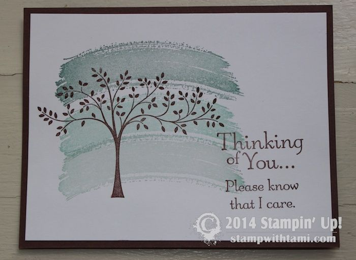 CARD: Thoughts and Prayers | Stampin Up Demonstrator - Tami White - Stamp With Tami Crafting and Card-Making Stampin Up blog