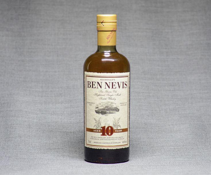 🥃 - Butter & Sugar Ben Nevis 10 Single Malt Scotch Whisky Toffee, Caramel, Butterscotch