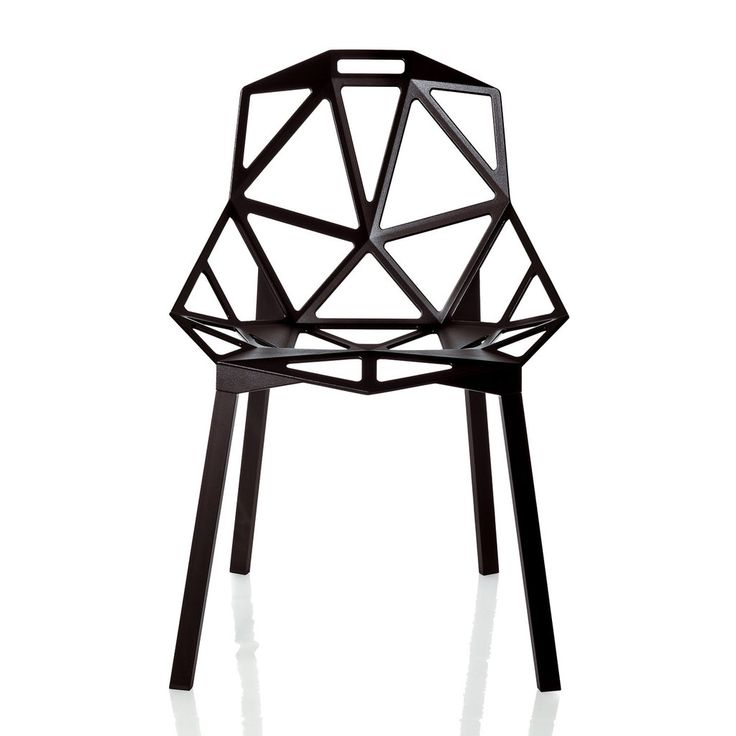 HAUS - Chair One - stacking model by Konstantin Grcic