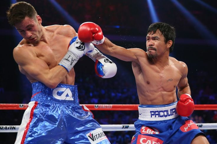Pacman proves to the world that he still has the great boxer in him when he defeated Algieri by unanimous decision today#PacquiaoAlgieri#hungryforglory