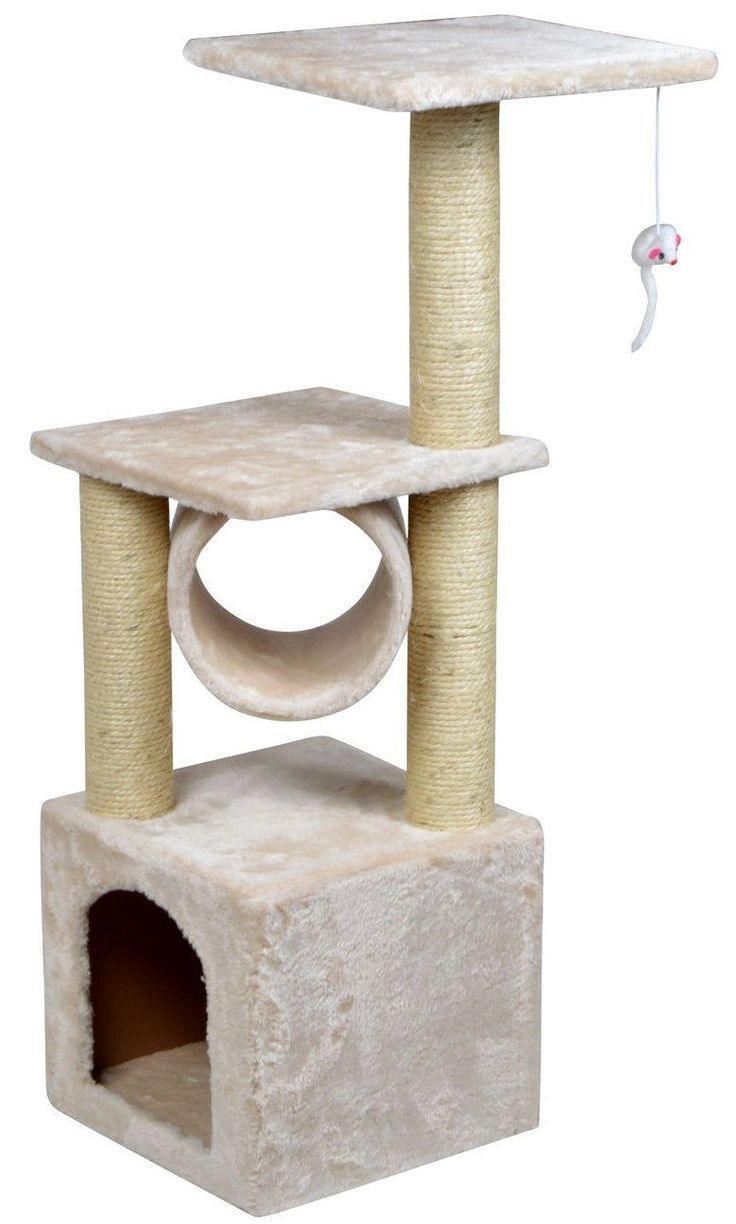 cat tree house | 25+ best ideas about Cheap cat scratching post on ...