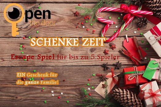 Weinachtgechenke Zeit! Wir haben für Sie ein spezielles Angebot! #Room #escape #Vienna! http://www.openthedoor.at/de/news/