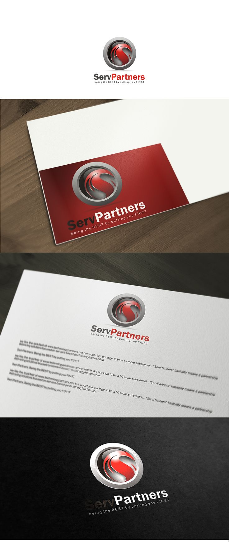 New logo and business card wanted for ServPartners