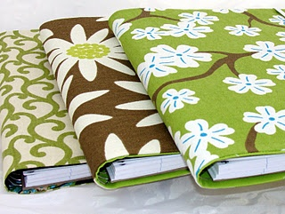 Love these spiral notebook covers.