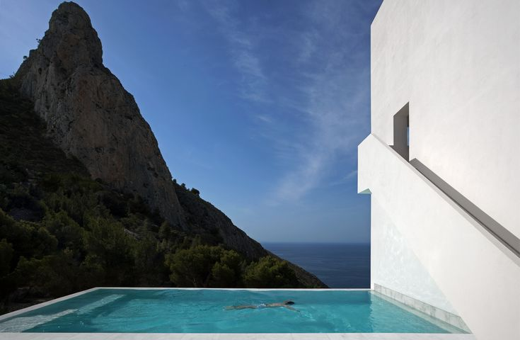 Fran Silvestre Arquitectos. House on the Cliff   #FranSilvestreArquitectos #HouseOnTheCliff #Architecture #Arquitectura #Design #Spain