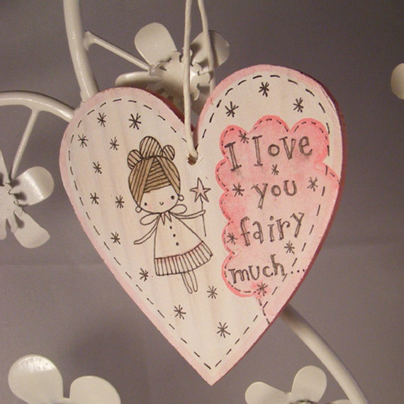 171 best images about kiara 39 s fairy party on pinterest for Wooden hearts for crafts