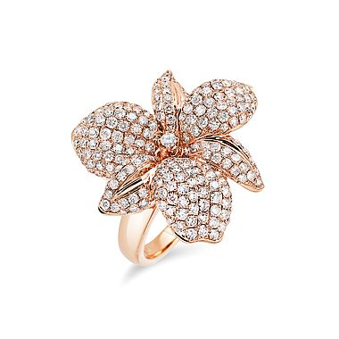 ALO Diamonds | Sensual orchid ring