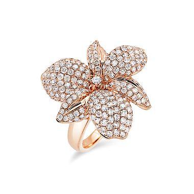 ALO Diamonds | Sensual orchid ring #alodiamonds
