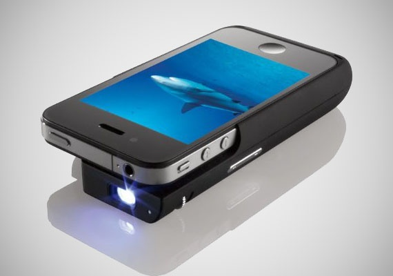 Apple iphone 4 pocket projector i for Proyector apple