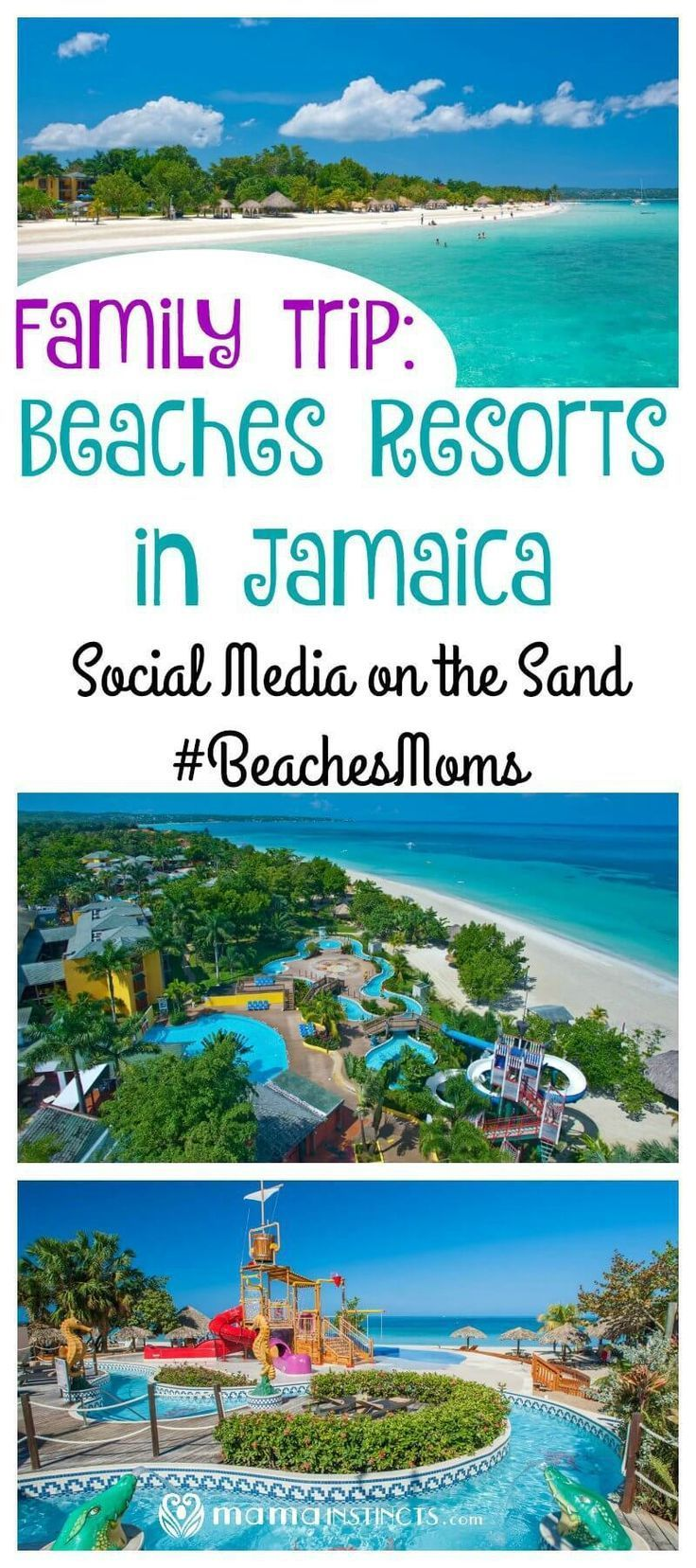 Family trip Beaches Resorts in Jamaica Social Media on the Sand
