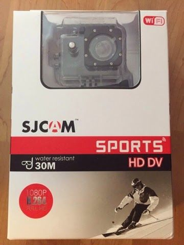 Xtrun.com: Unboxing sjcam 4000 sports HD DV ( Original )