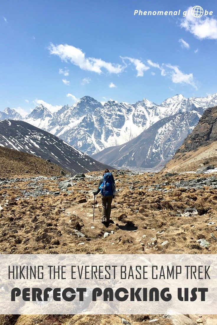 The perfect tried and tested packing list for hiking to Everest Base Camp. Including downloadable checklist and tips & tricks to save money while on the trek.