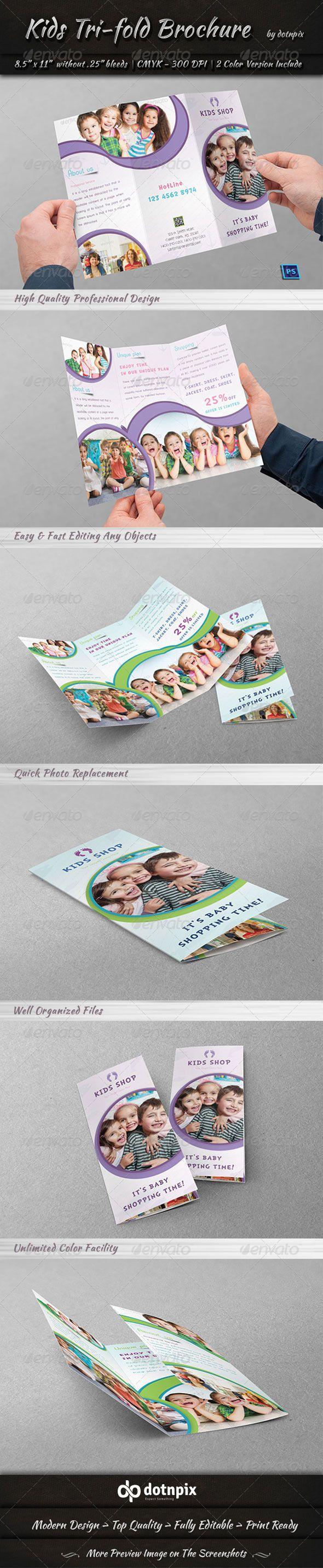 Kids Tri-Fold Brochure