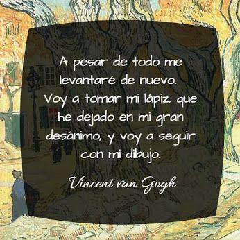 Pensamientos, frases, Van Gogh, pintura, arte