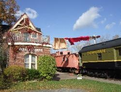 Train Station Inn - Nova Scotia, Canada    Our century old Train Station in  Tatamagouche, Nova Scotia was  restored in the 1980s with furnishings  reflecting its railway past. The station  itself and its spacious cabooses offer a unique Bed & Breakfast experience.