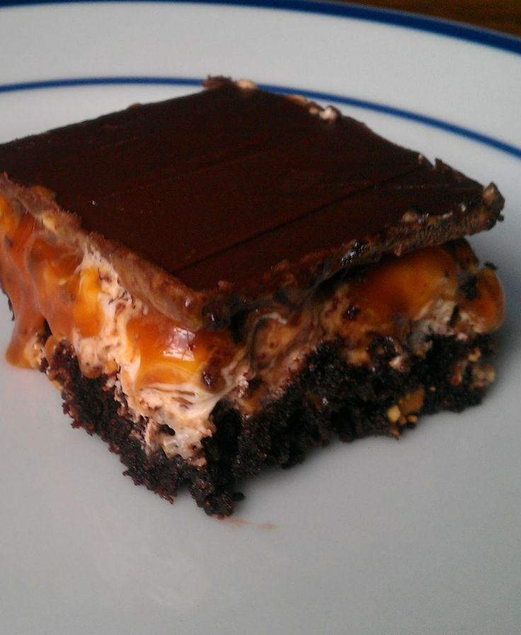 Snickers Brownies - Recipes, Dinner Ideas, Healthy Recipes  Food Guide