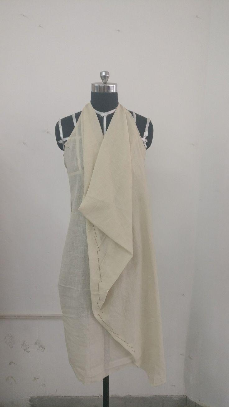 Drape dress# flowy# resort wear
