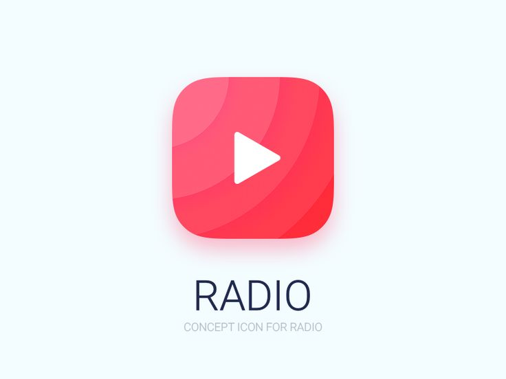 Radio Icon by Aideal in DailyUI