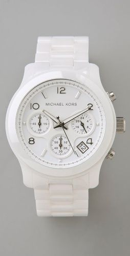 Michael Kors Ceramic Watch - MUST HAVE!