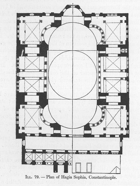 Hagia Sophia: Plan   Flickr - Photo Sharing!