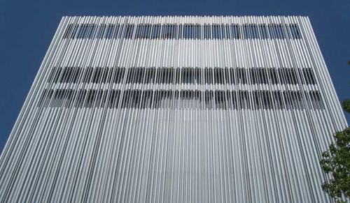Metal Facade Cladding Aluminium Extruded Panels Wyly