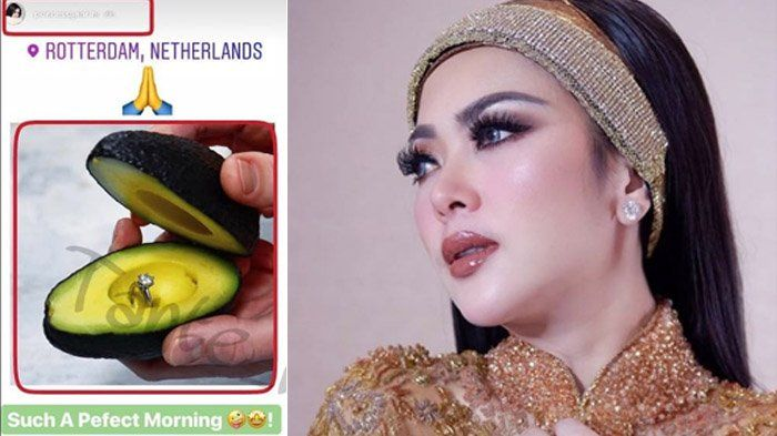 Syahrini Beri Respons usai Posting Foto Cincin di Alpukat dari Internet, Netizen Sebut Incess Drama