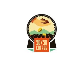 "50/50 Coffee  ""they export coffee to United States and Europe, and for each sale they make, they return 50% of the revenue to the impoverished Ecuadorian towns where the Coffee is grown.    This money is then used for various development related tasks, including building schools, helping farmers upgrade their equipment and funding teacher salaries.""  love this design and the cause"