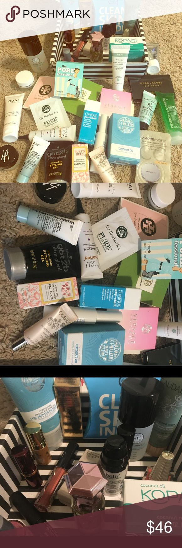 Sephora, Clinique, Smashbox, etc Beauty Bundle Sephora, Clinique, Smashbox, etc Beauty Bundle - 42 different beauty products new in boxes. From cleansers and lotions and lip products to perfumes! Sephora Makeup