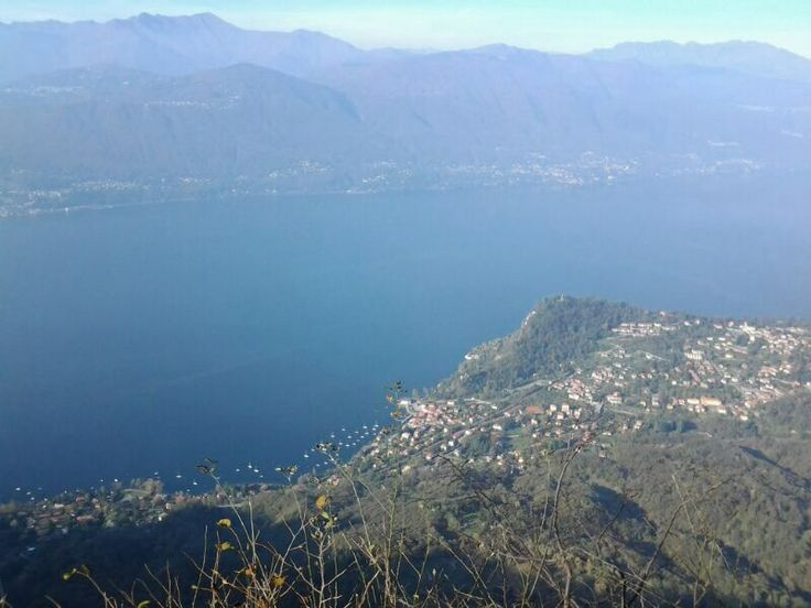 Lake Maggiore taken from Laveno. Take a bucket lift up to the top, or if your feeling fit you acn walk up