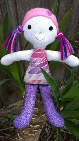 This cute little Pocket Penny Doll was made by Lisa.  You can find the pattern in my Etsy or Craftsy stores: https://www.etsy.com/shop/JodysCraftyCreations http://www.craftsy.com/user/1707335/pattern-store