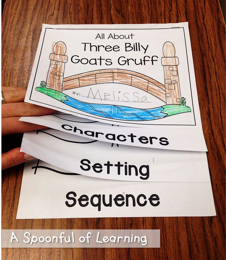 Three Billy Goats Gruff Activities!