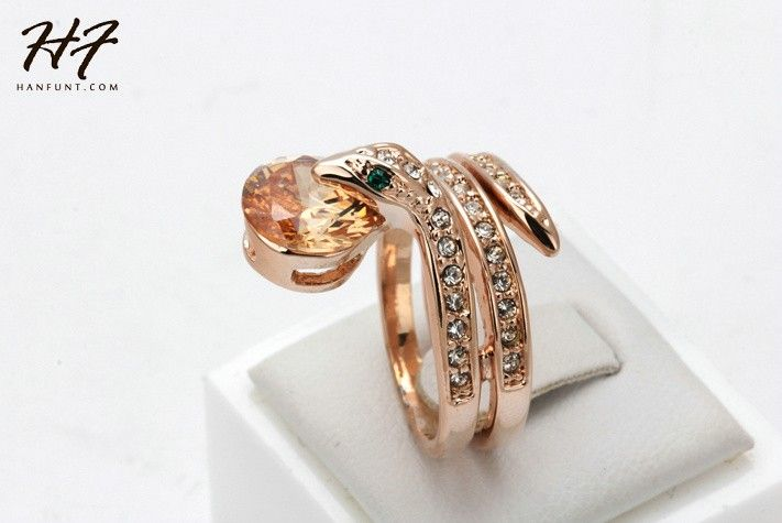 Material:18K Real Gold & Platinum Plated Material: AAA+ Cubic Zirconia ( CZ ) & Austrian Crystals