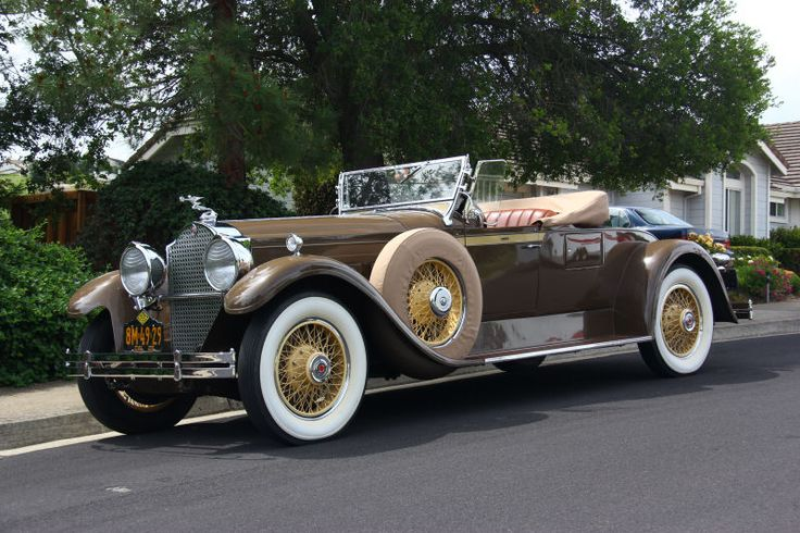 Armored Cars For Sale >> 1929 Packard Model 640 Custom Eight Roadster | Classic ...