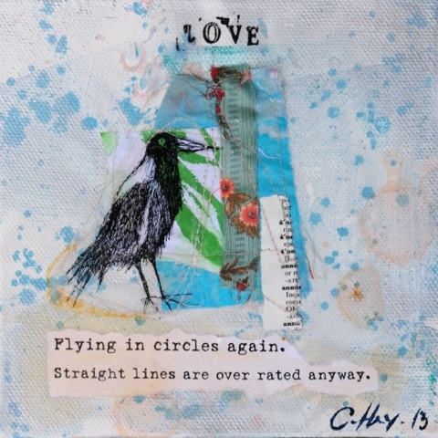 Flying in circles again! by Claire Hey