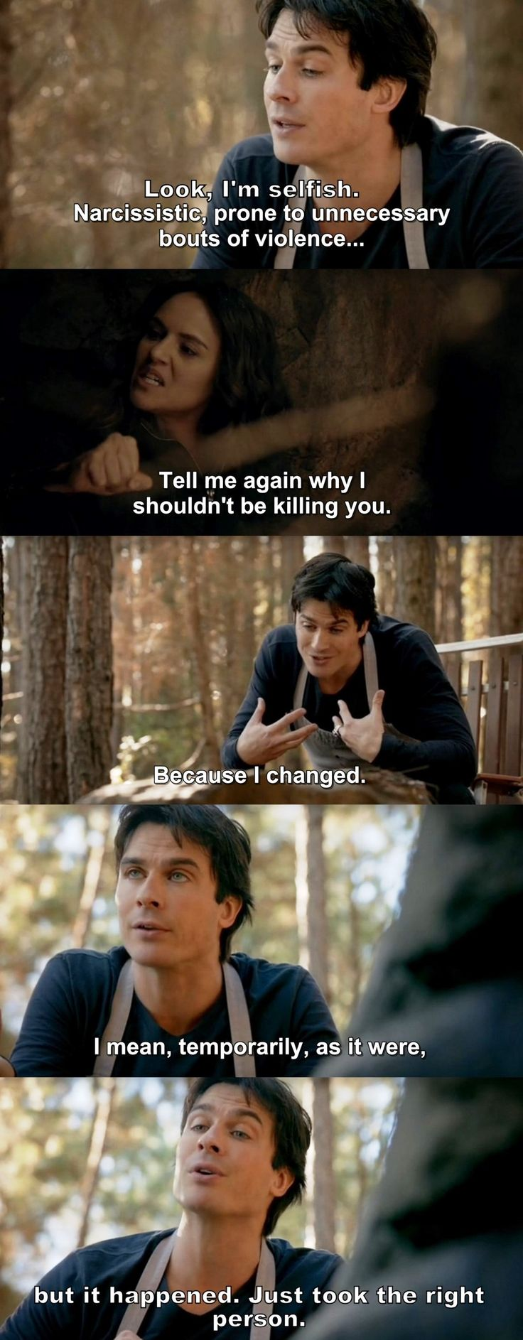 The Vampire Diaries TVD 7X15 - Damon and Rayna